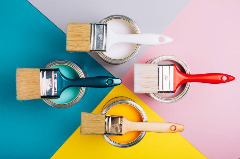 Colourful Paints